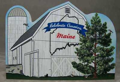 Cat's Meow Village American Maine State Barn R1167 NEW *SHIPPING DISCOUNTS*
