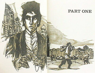Vintage 1975 Crime And Punishment Dostoevskyleather Book Classic Russian Novel