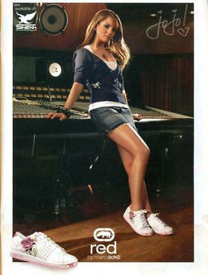 JoJo - ECKO RED AD - PINUP - CLIPPING