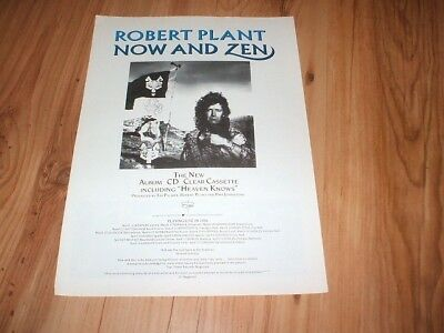Robert Plant-1988 magazine advert