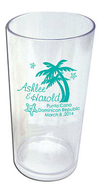 50 - 19oz Custom Tumblers Destination Wedding OOT Bag