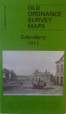 Old Ordnance Survey Map Edenderry Co Offaly 1911 Sheet 12.05 New