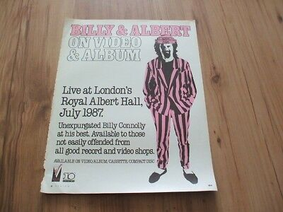 Billy Connolly-magazine advert