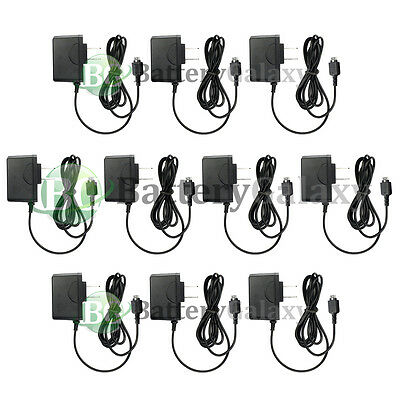 10 Wall Charger for LG vx8350 vx8500 vx8550 Chocolate 2 vx8700 vx9400 vx9900 enV