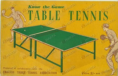 1954 EDUCATIONAL PRODUCTIONS Know the Game TABLE TENNIS