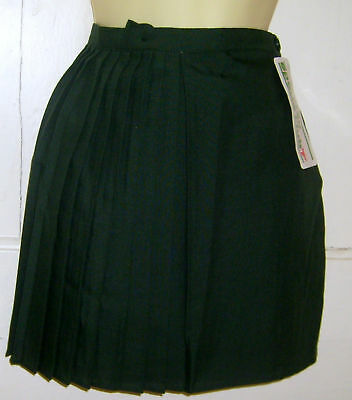 Bottle Green P.e Sports Team Skirt 22,24,26,28 Waist
