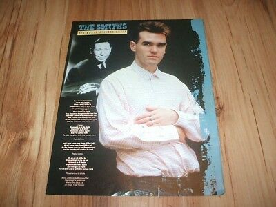 The Smiths-magazine advert