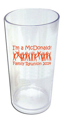 50 - Custom Personalized Family Reunion Favor Tumblers