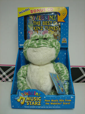 Webkinz Music Starz Spotted Frog NWT Code Sealed!