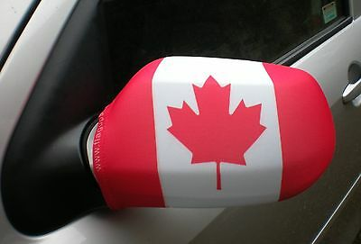 Car Wing Mirror Socks Flags, Covers, Flag-Ups! - Canada