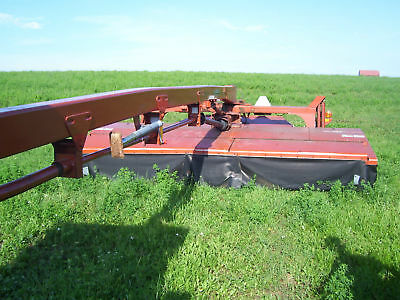 2007 Hesston Agco 3315 mower discbine windrower swather