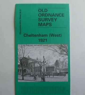 Old Ordnance Survey Maps Cheltenham West Gloucestershire 1921 Sheet 26.07 New