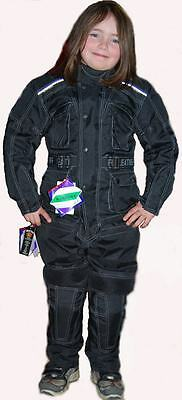 New Kids Textile Jacket Cougar Full Armour Size In Stock S-3Xl
