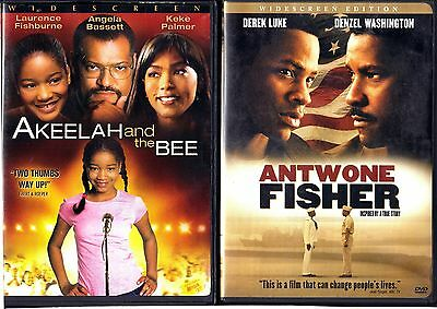 Akeelah and the Bee & Antwone Fisher - 2 WS DVDs
