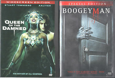 The Queen of the Damned & Boogeyman - 2 WS Horror DVDs