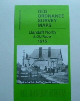 Old Ordnance Survey  Map Llandaff North & Old Radyr 1915 Sheet 43.05 New