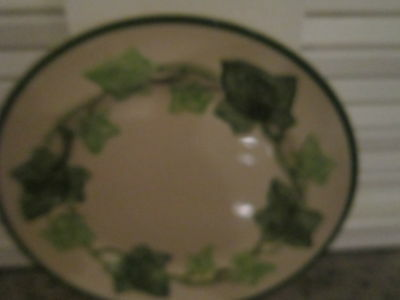 "Franciscan ""Ivy"" Saucer ONLY Dish 6"""