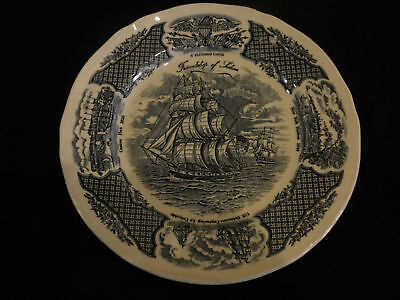 Alfred Meakin Staffordshire Fair Winds Dinner Plate 10""
