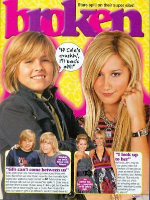 DYLAN & COLE SPROUSE - ASHLEY TISDALE  TEEN BOY ACTOR 11x8 MAGAZINE POSTER PINUP