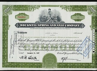 ROCKWELL SPRING AND AXLE COMPANY PA iss to Erwin Reule