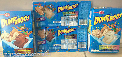 Betty Crocker Dunkaroos Cookies With Chocolate Or Vanilla Rainbow Frosting