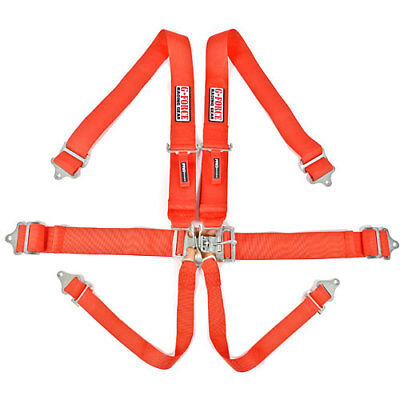 G-FORCE 6001RD Pro-Series Latch & Link 6-Point Individual Harness