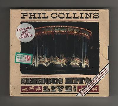 Phil Collins - Serious Hits Live - Cassetta BoxSet MINT