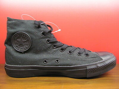 New Converse All Star Chuck Taylor Classic Black Canvas HI Top Men Shoes M3310