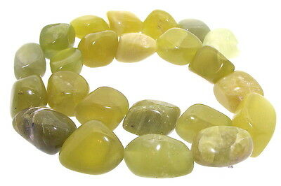 Large Korean Peridot Olivine Freeform Polished Beads