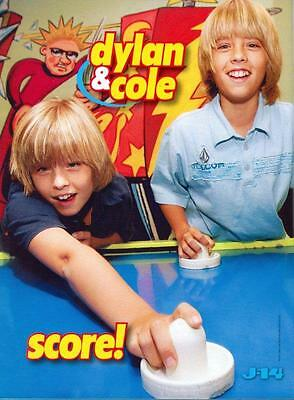 Dylan & Cole Sprouse - The Suite Life - Laguna Beach - Pinup - Clipping