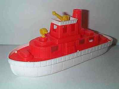 AMLOID TOYS 1960'S HARBOR FIRE BOAT FIRE FIGHTING SHIP B