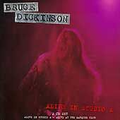 Alive in Studio A, Bruce (Iron Maiden) Dickinson 2 CD's  (NEW UNSEALED) METAL