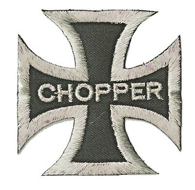 Patch écusson patche thermocollant CHOPPER motard biker hotfix brodé