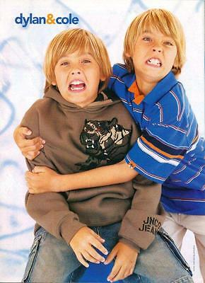 Dylan & Cole Sprouse - The Suite Life - Pinup - Clipping