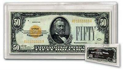 Brand New BCW LARGE BILL Size 2-piece Snap Together Currency Slab