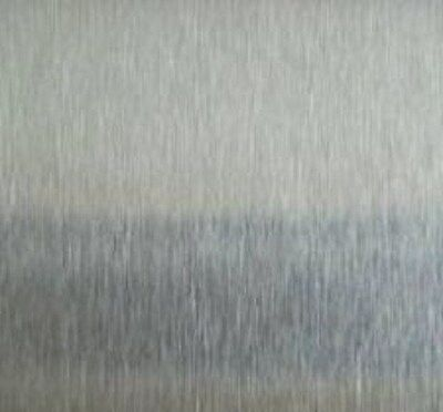 """STAINLESS STEEL SHEET .035 x 12"""" x 24"""" # 3 BRUSHED 304"""