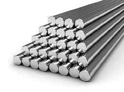 """Alloy 304 Stainless Steel Solid Round Bar - 1"""" x 24"""" Long"""