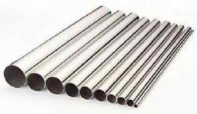 "STAINLESS STEEL ROUND TUBE 3/4"" x .065 x 8' 304/304-l"