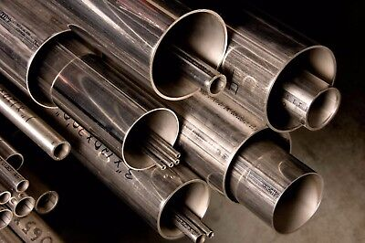 "Alloy 304 Stainless Steel Round Tube - 3/4"" x .065"" x 36"""