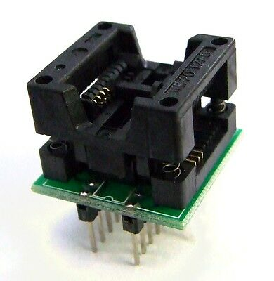 MCUmall Canada Made ADP-081A SOIC8-DIP8 adapter (~200mil) for generic programmer