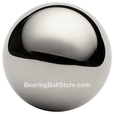 "Five  1"" 302 stainless steel bearing balls 12 oz"