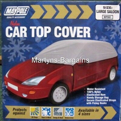 Car Top Cover to protect against Snow, Dust, Rain etc.Large Saloon Car Top Cover