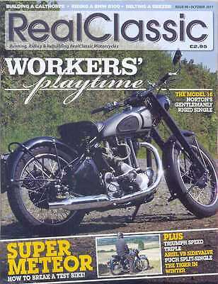REAL CLASSIC No.90 / OCTOBER 2011 (NEW)*Post included to UK/Europe/USA