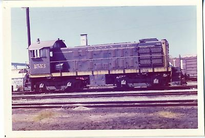 ATSF # 1513 Vintage Color Photo