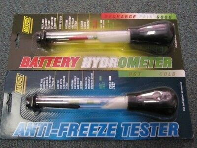 Maypole AntiFreeze Hydrometer & Battery Hydrometer Fast and Accurate Readings