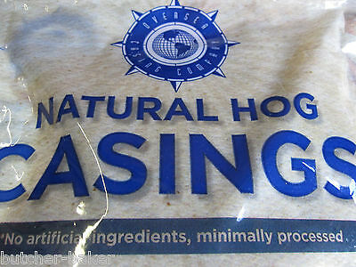 *BEST BUY* FULL HANK 100+ Lbs Natural Sausage Hog Casings Pre-Flushed Casing Gut