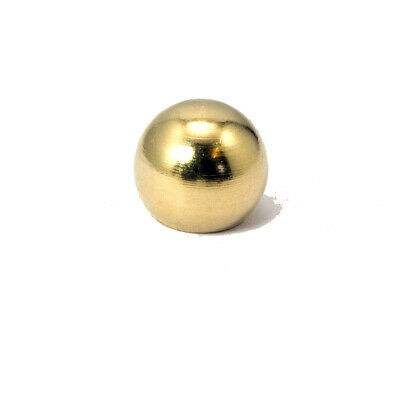 M10 x 1mm Pitch Threaded Solid Brass Globe Finial for Chandeliers