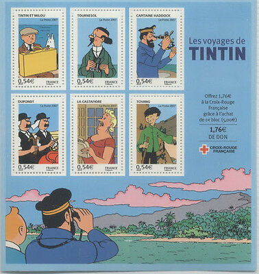 France Bloc N° 109 Tintin Luxe **
