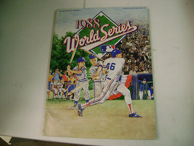 1988 World Series Program-Dodgers Vs. A's
