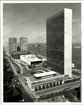 1966 NEW YORK (USA) Headquarters of the UNITED NATIONS *Fotografia